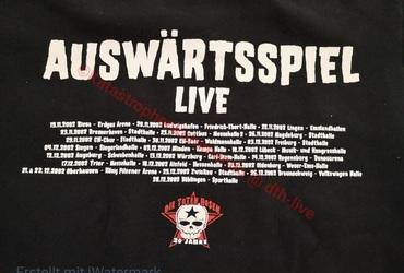 Sweatshirt Auswärtsspiel Tour 2002 - 2