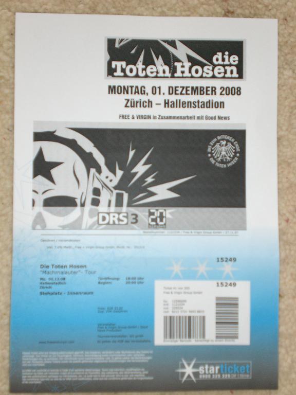 Ticket DTH
