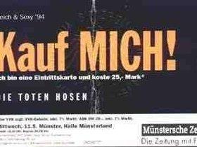 Ticket Münster 11.05.1994