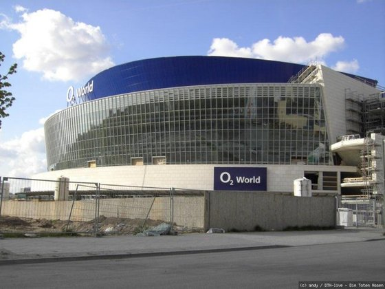 O2 World im Bau