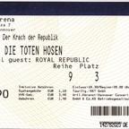 2012.12.11 Die Toten Hosen - Hannover, TUI-Arena - Der Krach der Republik