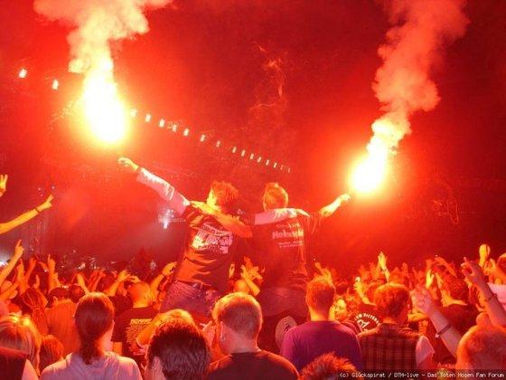 Feuer in der Arena!