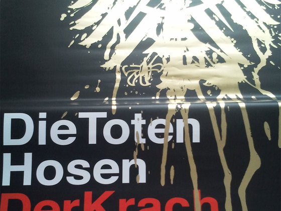 Krach der Republik Tourposter