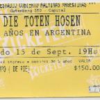 Estadio Malvinas Argentinas - 15/09/2012