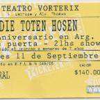 Teatro Vorterix - 11/09/2012