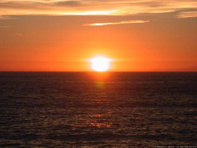 Sunset in L.A.