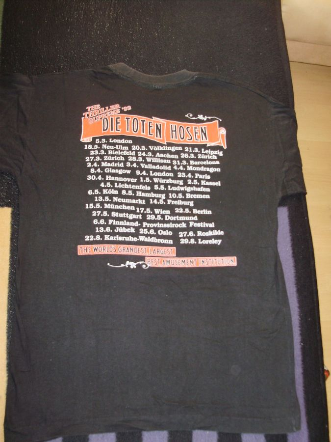 1992 Shirt Menschen, Tiere Sensationen Tour-Shirt RS