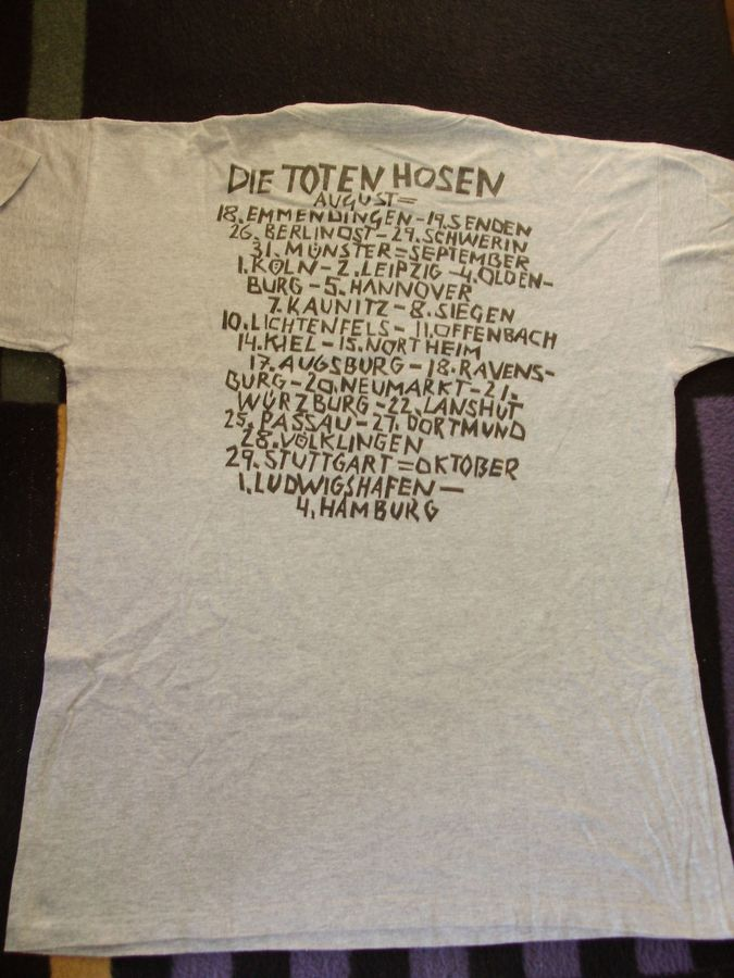 1990 Shirt Tour-Shirt RS