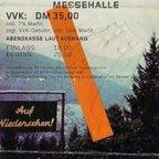 Ticket Erfurt Rückseite