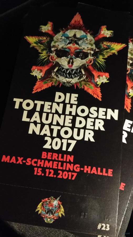 Ticket Berlin 15.12.2017