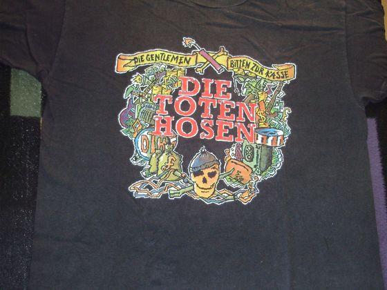 1991 Shirt Die Gentlemen bitten zur Kasse VS