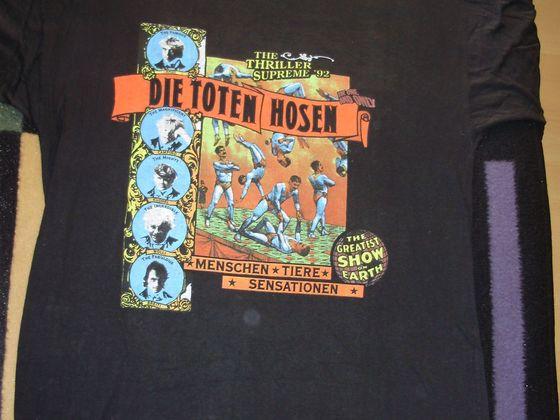 1992 Shirt Menschen, Tiere Sensationen Tour-Shirt VS