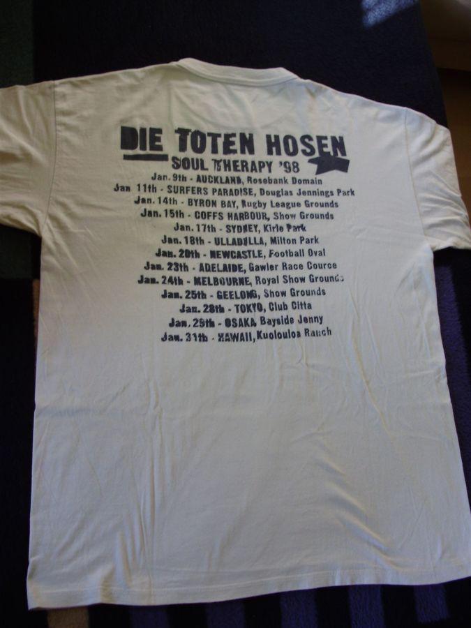 1998 Shirt Soul Therapy Tour-Shirt RS