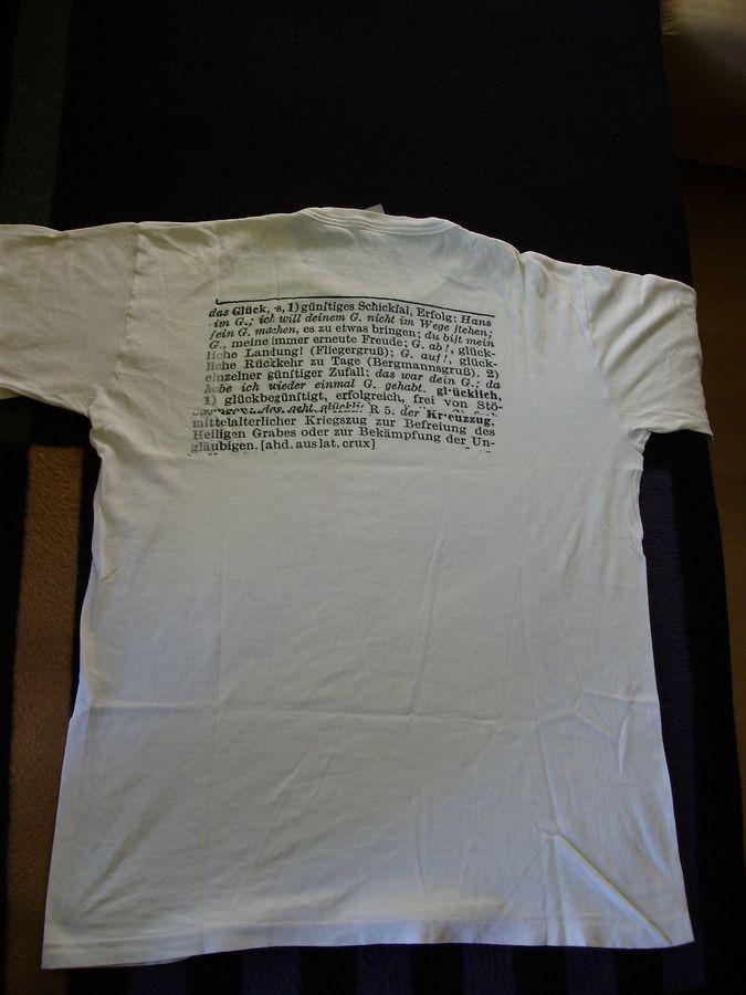 1990 Shirt Kreuzzug ins Glück RS