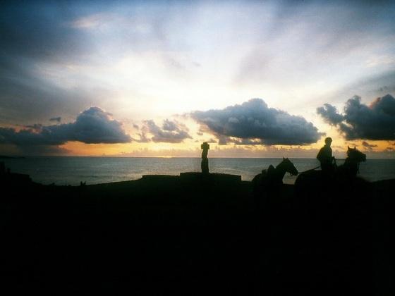 Abend in der Südsee
