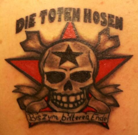 Dth Tattoo Galerie Die Toten Hosen Dth Live